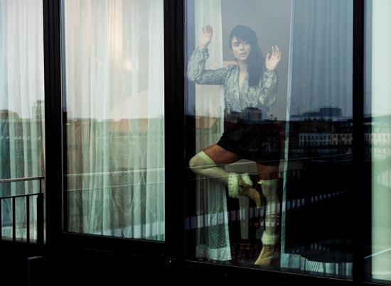 Body & Lederrock: Hugo Boss, Schuhe: Australia Luxe