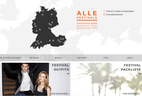 Top-Events, Outfit-Tipps und Co. im Zalando Festival-Guide